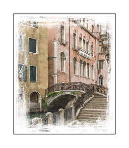 10-11-12 Venice sidewalk, bridge and canal