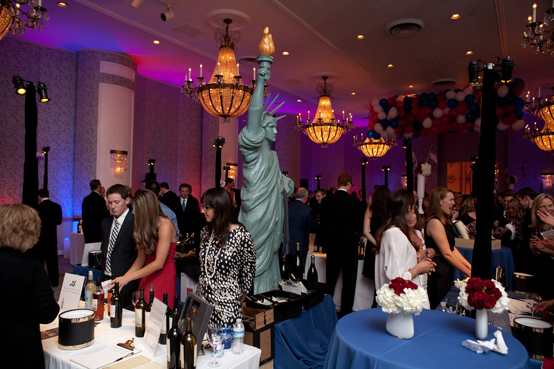 San Francisco Wine Auction at The Fairmont Hotel