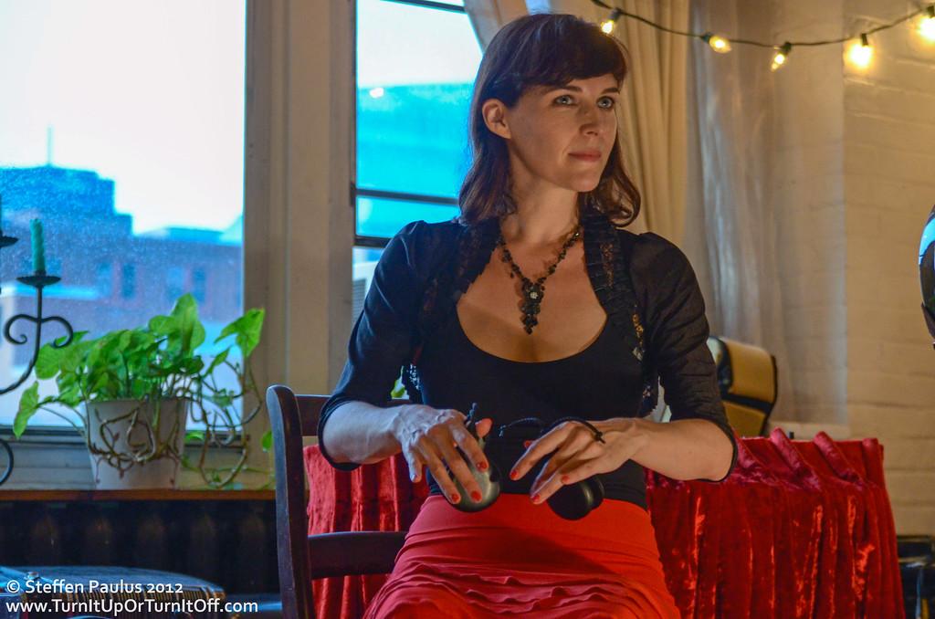 Kristin Sweetland @ Underground Art Party @ Loft 404, Toronto, ON, 3-September 2012