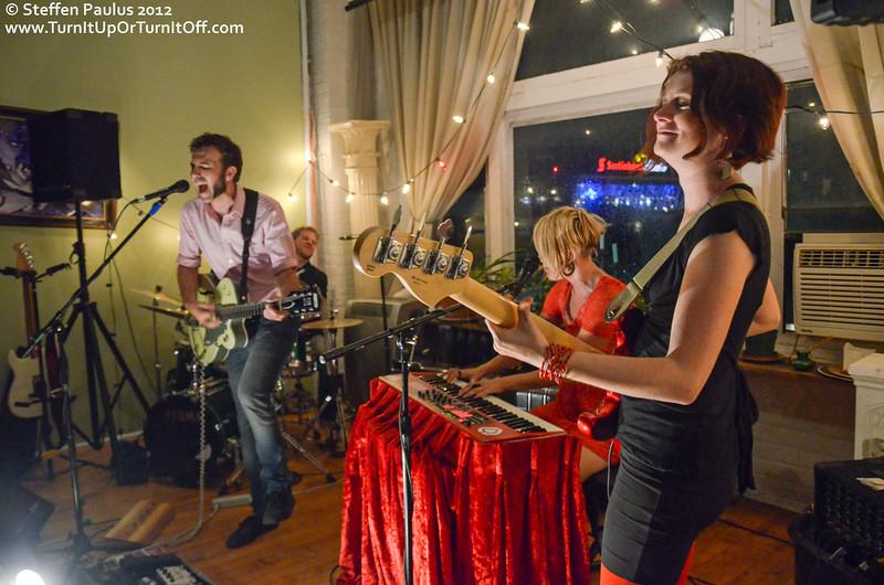 Picture The Ocean, Underground Art Party @ Loft 404, Toronto, ON, 3-September 2012