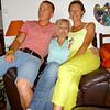 Antoine, mon filleul, Sandrine, ma cousine et Moi :)