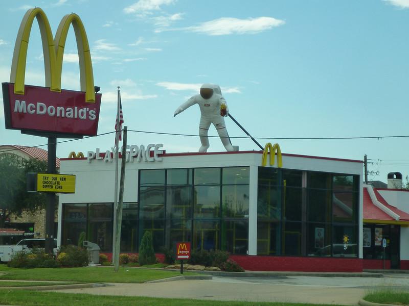Even McDonalds has a NASA theme