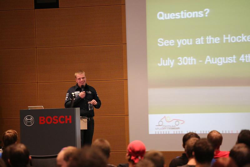 FSG Workshop 20121027 - Bosch Engineering GmbH - Abstatt