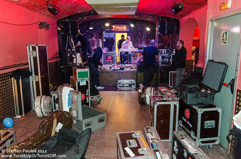 Blue Rodeo @ Sidecar, Barcelona, Spain, 9-Nov 2012 (Soundcheck)