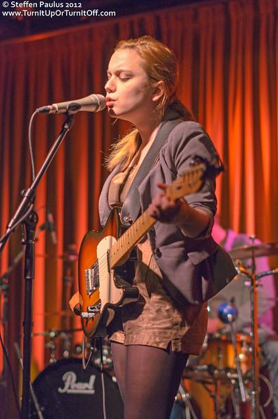 Lydia Loveless @ Drake Underground, Toronto, ON, 26-Nov 2012
