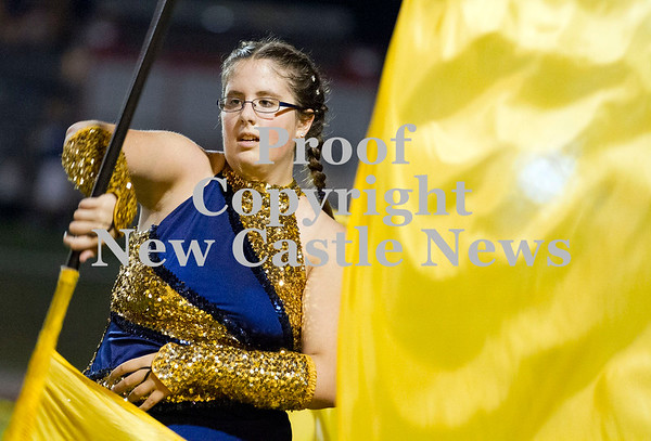 Scott R. Galvin / NEWS<br /> Shenango marching band.