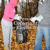 Courtney Caughey-Stambul/NEWS<br /> New Castle students, JayVonne Wright, left, and Silas Green, participate in Saturday's clean-up effort at Gaston Park.