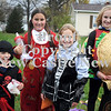 Courtney Caughey-Stambul/NEWS<br /> A group of trick-or-treaters pose for a photo in Union Township.
