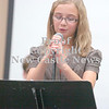 Erica Galvin/NEWS<br /> Candidate Madeline Spadafore tells her fellow students how she would improve indoor recess.