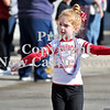 Courtney Caughey-Stambul/NEWS<br /> A member of Neshannock's Mini Majorettes twirls in Saturday's parade.