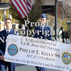 Courtney Caughey-Stambul/NEWS<br /> Founder of V.F.W. Post 267, Phillip E. Kelly Sr., is remembered during Saturday's parade.