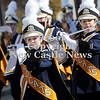Courtney Caughey-Stambul/NEWS<br /> The Shenango High School Marching Band performs for parade-goers.