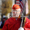 Courtney Caughey-Stambul/NEWS<br /> A veteran in the Marine Corps League marches on Saturday.