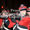 Courtney Caughey-Stambul/NEWS<br /> A student in the New Castle Marching Band plays the flute.