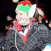 Courtney Caughey-Stambul/NEWS<br /> A member of First Presbyterian Church sports a large pair of elf ears for last night's Light-Up Night parade.