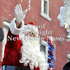 Courtney Caughey-Stambul/NEWS<br /> Santa Claus waves to parade-goers on Saturday in Ellwood City.