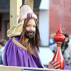 Courtney Caughey-Stambul/NEWS<br /> A girl smiles while riding aboard the Wurtemburg United Methodist Church's Nativity float.
