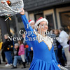 Courtney Caughey-Stambul/NEWS<br /> A student in Ellwood City's danceline performs with the Marching Blue Band on Saturday.
