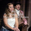 Erica Galvin/NEWS<br /> Francesca Nardone as Eponine and Michael Butchelli as Marius sing a song together during dress rehearsal of Lincoln High School's fall musical, Les Miserables.