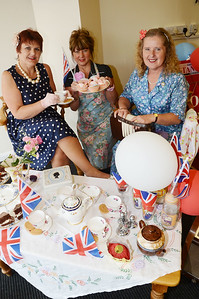 Staff at the Standard get ready to celebrate the Jubilee G120531-8e