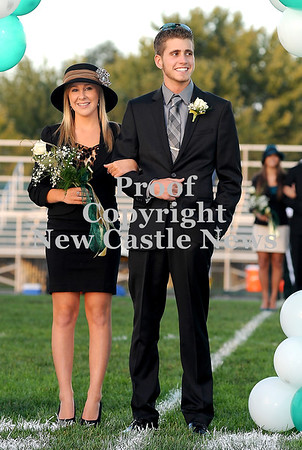 Courtney Caughey-Stambul/NEWS<br /> Laurel's Allyson Gould is escorted by Anthony Figurelli.
