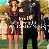 Courtney Caughey-Stambul/NEWS<br /> Laurel's Jenna Petronelis is escorted by Jacob Breitenstein.