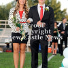 Courtney Caughey-Stambul/NEWS<br /> Laurel's Chelsea Gibson is escorted by Shane Wilson.