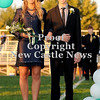 Courtney Caughey-Stambul/NEWS<br /> Laurel's Leah Telesz is escorted by Ben Armando.