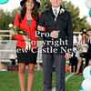 Courtney Caughey-Stambul/NEWS<br /> Laurel's Rachel Gardocky is escorted by Bucky Wiech.
