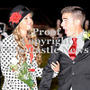 Courtney Caughey-Stambul/NEWS<br /> Chelsea Gibson and her escort, Shane Wilson, react after she is named Laurel's Homecoming Queen for 2012.