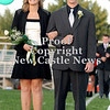 Courtney Caughey-Stambul/NEWS<br /> Laurel's Allie Collier is escorted by Brandon Ritchie.