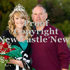 Scott R. Galvin / NEWS<br /> Mohawk High School homecoming queen Paige Crist is escorted by her father Anthony on the field at the football game Friday.