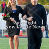 Scott R. Galvin / NEWS<br /> Mohawk High School homecoming court member Casey Boyer is escorted on the field by her father William at the football game Friday.