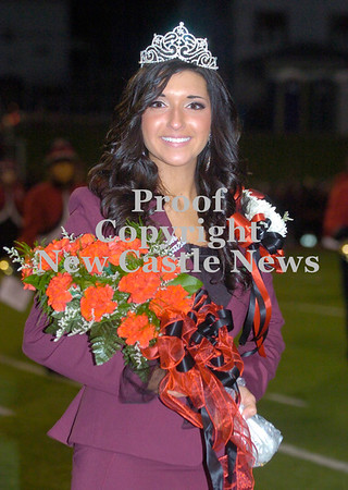 Erica Galvin/NEWS<br />  New Castle's 2012 Homecoming Queen Taylor Berardi