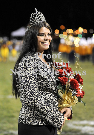 Courtney Caughey-Stambul/NEWS<br /> Nicolette Lanigan is Shenango's Homecoming Queen for 2012.
