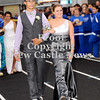 Courtney Caughey-Stambul/NEWS<br /> Union's Kylie Davis escorted by Markel Peace.