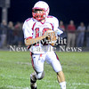 Courtney Caughey-Stambul/NEWS<br /> Neshannock quarterback Ernie Burkes looks to throw.