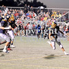 Courtney Caughey-Stambul/NEWS<br /> Wilmington's Alex Patton runs the football in for a touchdown against Hickory.