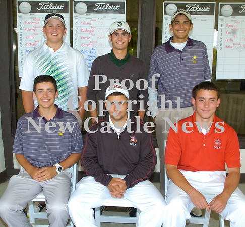 Erica Galvin/NEWS<br /> TriCounty top players are Front Row from left, Lucas Villani, Mike Maciarello and Matt Cioffi<br /> Back Row from left,   Nick Peluso, Shane Wilson and Matt DeAngelo