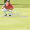 Erica Galvin/NEWS<br /> Neshannock's Matt Cioffi surveys the green on the 18th hole.
