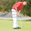 Erica Galvin/NEWS<br />  Matt Cioffi putts the ball on the 9th green.