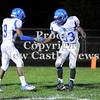 Courtney Caughey-Stambul/NEWS<br /> Union's Ben Young, left, and Malik Williams celebrate after a Scottie touchdown.