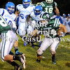 Courtney Caughey-Stambul/NEWS<br /> Matthew Conway runs the football for Laurel last night.