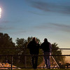 Fans watch during the second quarter of the Wilmington vs. Saegertown high school football game on Friday.
