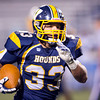 Wilmington fullback Tyler Donati (33) runs the ball for a touchdown against Saegertown in the second quarter Friday.