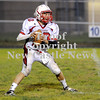 Courtney Caughey-Stambul/NEWS<br /> Neshannock quarterback Ernie Burkes searches for an open receiver.