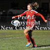Courtney Caughey-Stambul/NEWS<br /> Neshannock's Marissa DeMatteo advances the soccer ball.