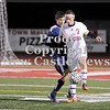 Courtney Caughey-Stambul/NEWS<br /> Neshannock's Connor Richards protects the soccer ball from a Central Valley player last night.