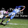 Courtney Caughey-Stambul/NEWS<br /> Wayne Seamans makes a catch for Union last night against South Side Beaver.