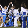 Courtney Caughey-Stambul/NEWS<br /> Union senior band members perform during halftime.